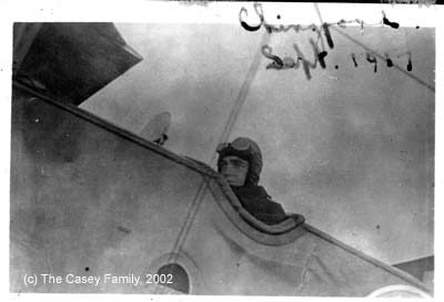 Yeulett learning to fly Avro 504